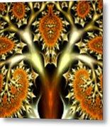 The Citrus Tree Metal Print
