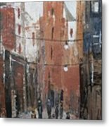 The City Metal Print