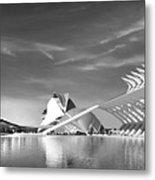 The City Of Arts And Science Metal Print