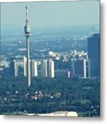 The City Of Vienna Austria Metal Print