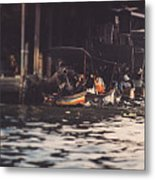 The City On The Water. Thailand. Metal Print