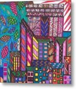 The City That Never Sleeps Metal Print
