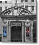 The Civic Opera House Metal Print