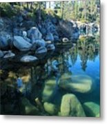 The Clarity Of Morning  Metal Print