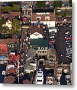 The Clarke Cook House Restaurant P.o. Box 249 Bannisters Wharf Newport Ri 02840 Metal Print by Duncan Pearson