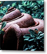 The Clay Horn Metal Print