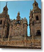 The Clerecia Church In Salamanca Metal Print