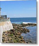 The Cliff Walk Newport Rhode Island 4 Metal Print