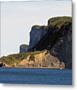 The Cliffs Of Forillon  Metal Print