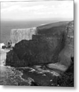 The Cliffs Of Mohar II - Ireland Metal Print by Mike McGlothlen