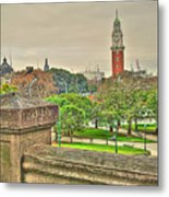 the Clock Metal Print