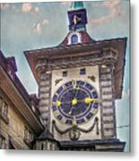 The Clock Of Clocks Metal Print