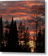 The Close Of Day Metal Print
