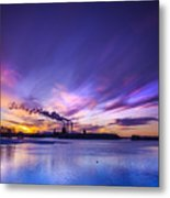 The Cloud Factory 2 Metal Print