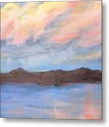 The Clouds Roll By Metal Print