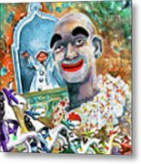 The Clown Of Tivoli Gardens Metal Print