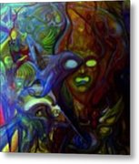 The Clutter Of Chaos Metal Print