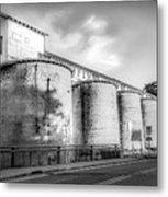 The Coal Silos Metal Print