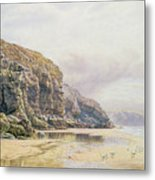 The Coast Of Cornwall  Metal Print by John Mogford