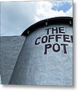 The Coffee Pot Up Close Metal Print