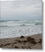 The Cold Sea Metal Print