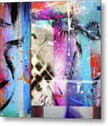 The Collage  Metal Print