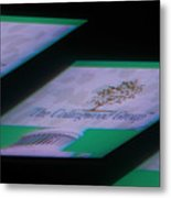 The Collingwoods Group Project N.1 Metal Print