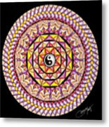 The Color Of Hapiness Metal Print by Marcia Lupo