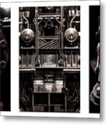 The Color Of Industry Metal Print