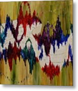 The Color Of Jazz Metal Print