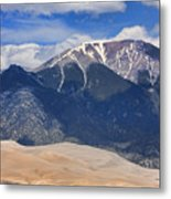 The Colorado Great Sand Dunes  125 Metal Print