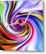 The Colorful Ballet Dress Metal Print by Steve K