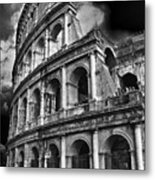 The Colosseum Rome Metal Print by Darren Burroughs