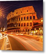 The Colosseum, Rome, Italy Metal Print