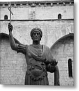 The Colossus Of Barletta Metal Print