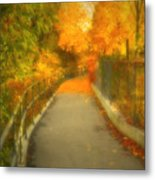 The Colour Around The Corner Metal Print