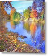 The Colours Of October Metal Print
