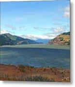 The Columbia River Metal Print
