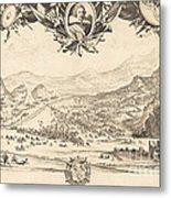 The Combat Of Avigliana Metal Print