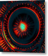The Combustion Of Passion Metal Print