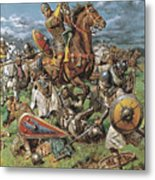 The Coming Of The Conqueror Metal Print