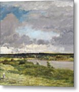 The Coming Storm, Early Spring Metal Print