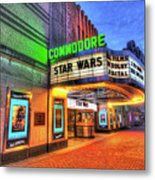 The Commodore Theatre, Portsmouth, Va Metal Print