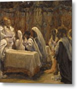 The Communion Of The Apostles Metal Print