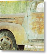 The Company Truck Metal Print
