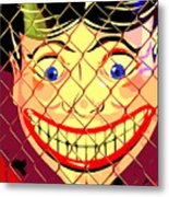 The Coney Smile Metal Print