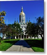 The Connecticut State Capitol Metal Print