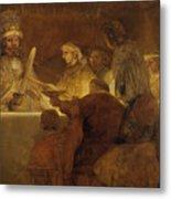 The Conspiracy Of The Batavians Under Claudius Civilis Metal Print