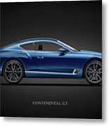 The Continental Gt Metal Print