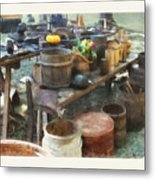 The Cooper's Table Metal Print